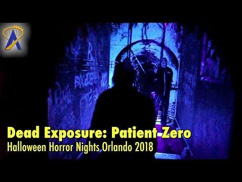 Dead Exposure: Patient Zero highlights from Halloween Horror Nights Orlando 2018