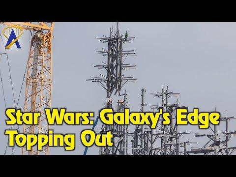 Star Wars: Galaxy's Edge Topping Off Milestone at Disneyland