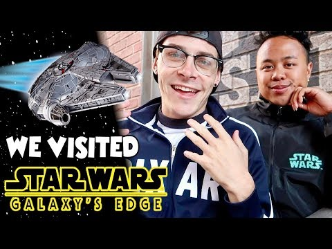 We Visited Star Wars: Galaxy's Edge!   Our FULL Review and In-Depth Guide!