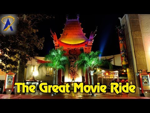 The Great Movie Ride - Full Ride with Cowboy Scene at Disney's Hollywood Studios