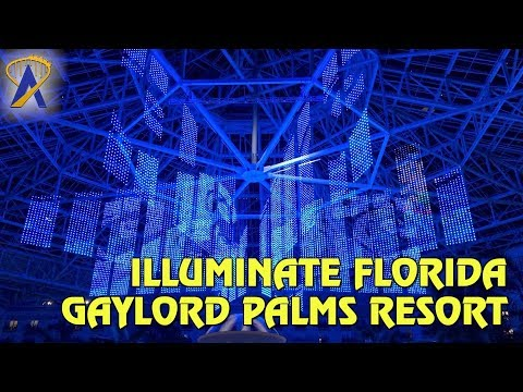 Illuminate Florida Light Show during SummerFest at Gaylord Palms Resort