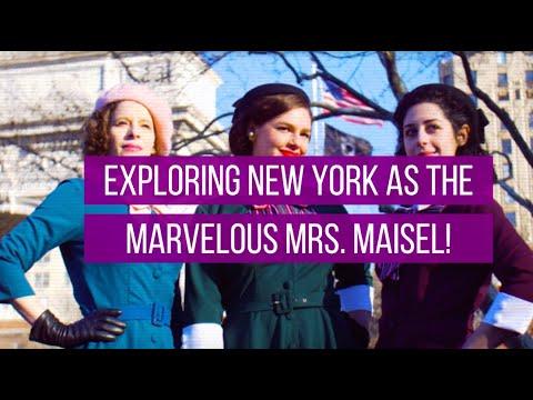Tour New York City as The Marvelous Mrs. Maisel