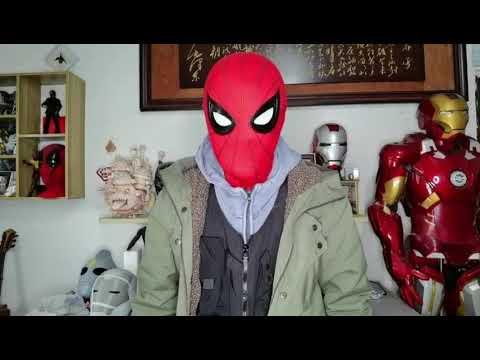 Demonstration: Spiderman Mask With Mechanical lenses