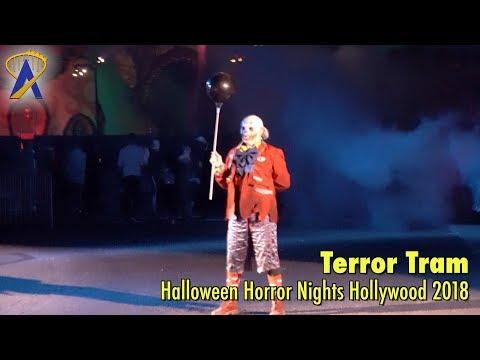 Terror Tram highlights at Universal Studios Hollywood's Halloween Horror Nights 2018