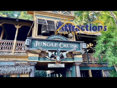 LIVE: The Attractions Podcast #95 - What's 'gnu' on Jungle Cruise, Halloween, and more!