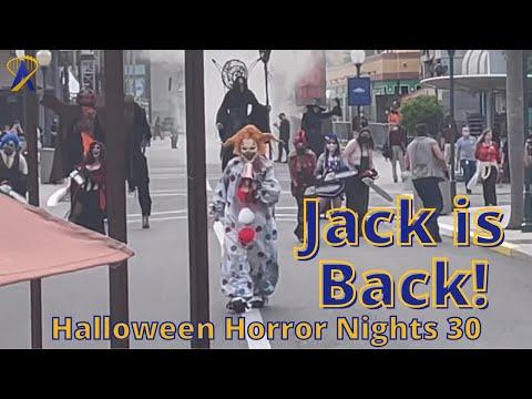 Jack is Back! Halloween Horror Nights Opening Scearemony 2021