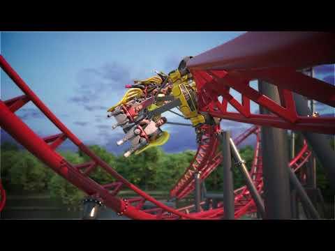 S&S Axis Coaster Animation