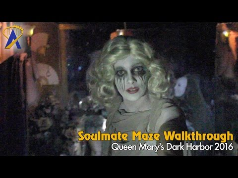 Soulmate - Full Maze at Queen Mary Dark Harbor 2016