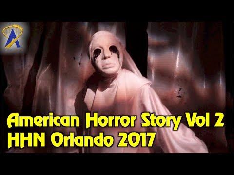 American Horror Story: Volume 2 highlights from Halloween Horror Nights Orlando 2017