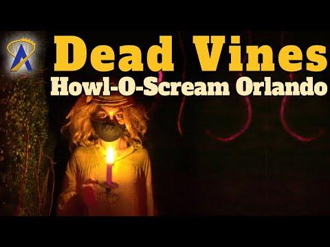 Dead Vines Haunted House Full Walkthrough – Howl-O-Scream Orlando