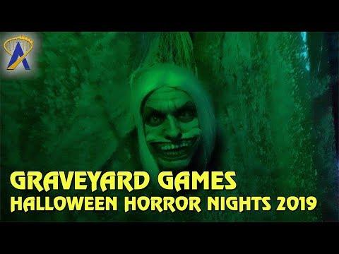 Graveyard Games highlights from Halloween Horror Nights Orlando 2019
