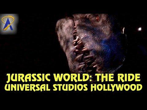 Jurassic World: The Ride - Full POV at Universal Studios Hollywood