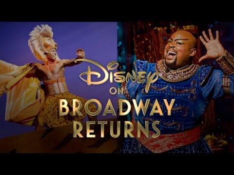 Disney on Broadway Returns - September 2021