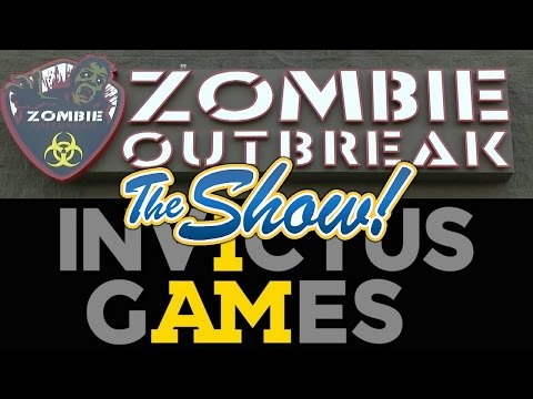 Attractions - The Show - Zombie Outbreak; Invictus Games interview; latest news - May 5, 2016