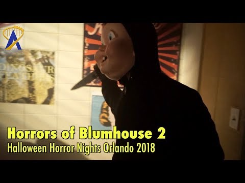 The Horrors of Blumhouse: Chapter Two highlights from Halloween Horror Nights Orlando 2018
