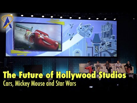 The Future of Disney's Hollywood Studios - Cars, Mickey Mouse & Star Wars