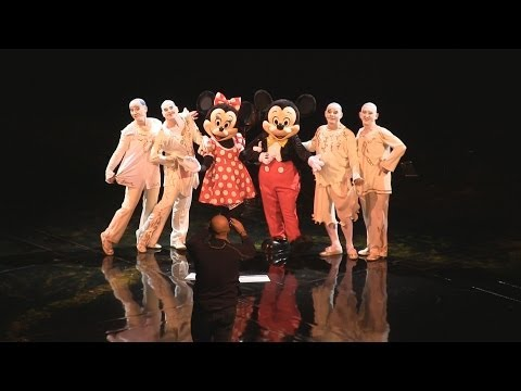 Cirque du Soleil La Nouba celebrates 15th anniversary with special appearance by Mickey & Minnie