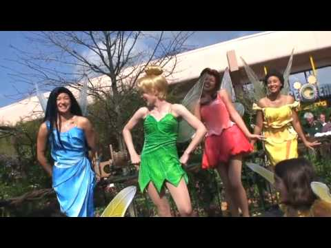 Disney Fairies at the Epcot Flower & Garden Festival