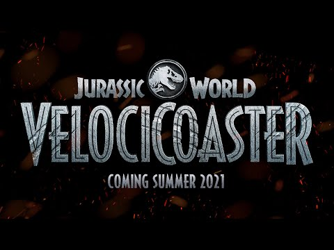 Jurassic World VelociCoaster, Opening June 10 at Universal Orlando Resort