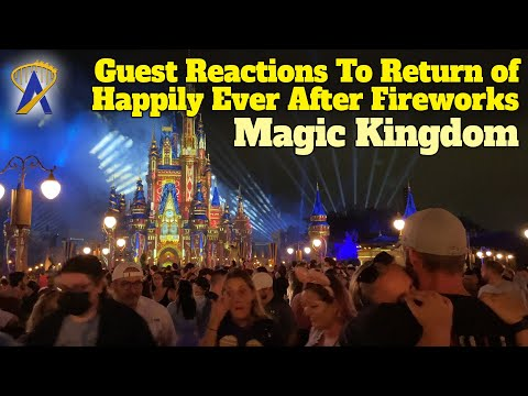 Reactions to the Return of Happily Ever After at the Magic Kingdom
