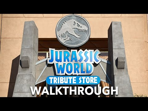EXCLUSIVE: First Look at the Jurassic World Tribute Store at Universal Orlando Resort