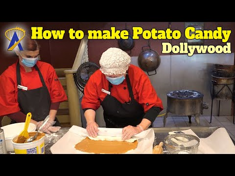 Learn the tricks to making Potato Candy from Dollywood's Best