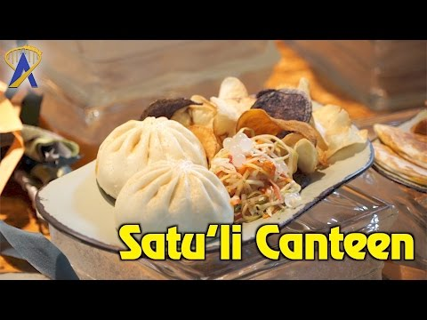 Satu'li Canteen restaurant inside Pandora - The World of Avatar at Disney's Animal Kingdom