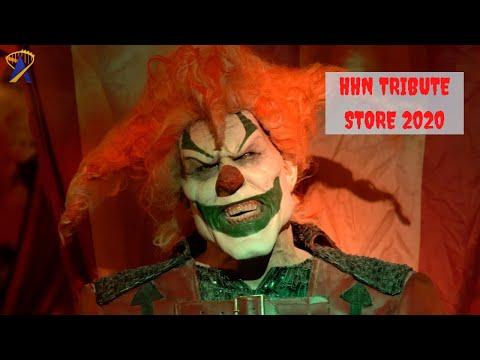 Inside Halloween Horror Nights Tribute Store 2020