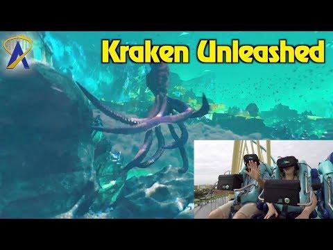 Taking on Kraken Unleashed at SeaWorld Orlando