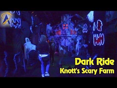 Dark Ride haunted house walkthrough at Knott's Scary Farm 2017
