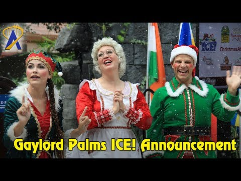 Gaylord Palms Summer in July event opening 2017