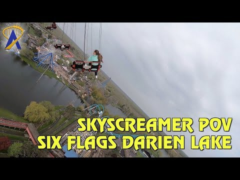 Six Flags SkyScreamer POV at Six Flags Darien Lake