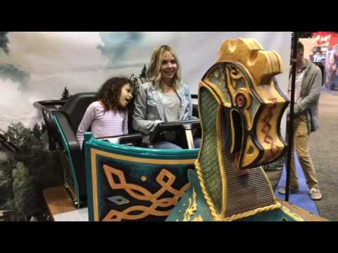 SeaWorld 2017 Ride Vehicles Unveiled at IAAPA
