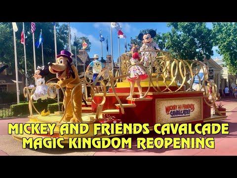 Mickey and Friends Cavalcade at the Magic Kingdom