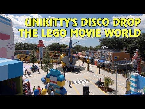 Unikitty's Disco Drop POV   The LEGO Movie World at Legoland Florida