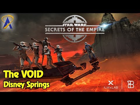 Star Wars: Secrets of the Empire now open inside The VOID at Disney Springs