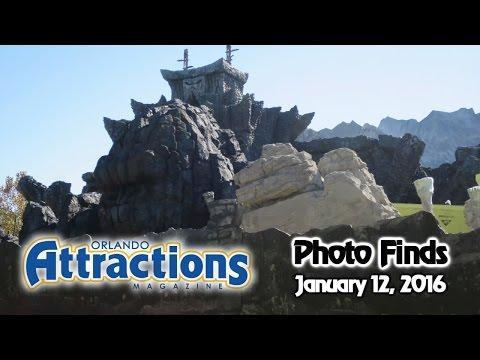 Photo Finds - Minions Closure, Sapphire Falls & Hulk/Kong Update - Jan. 12, 2016