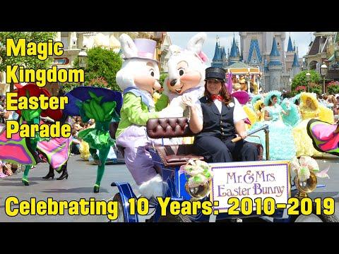 10 Years of Easter Pre-Parades at Magic Kingdom - Parade Retrospective 2010-2019, Walt Disney World