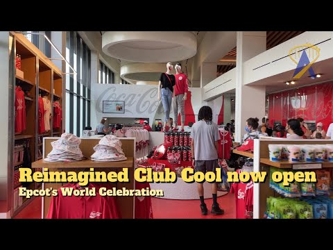 Re-Imagined Club Cool opens at Epcot