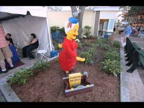 Photo Finds - Legoland Florida's Miniland and the Brevard Zoo 1-11-2012