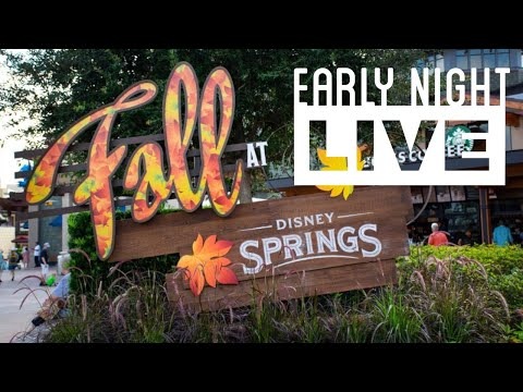Fall at Disney Springs! - Early Night Live