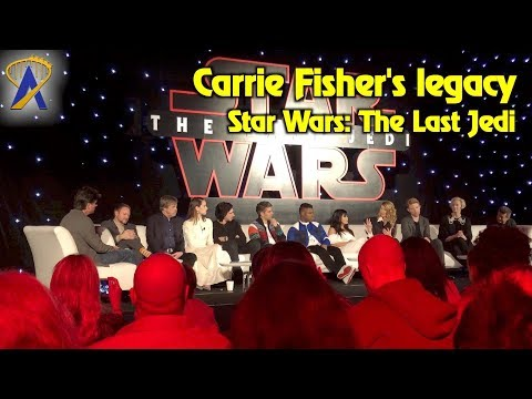 Women of Star Wars: The Last Jedi discuss what Carrie Fisher meant to them