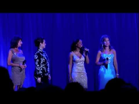 Voices of the Disney Princesses sing together at the D23 Expo 2011