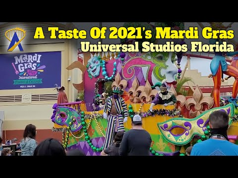 Touring the Floats, Food and Tribute Store at Universal's Mardi Gras 2021