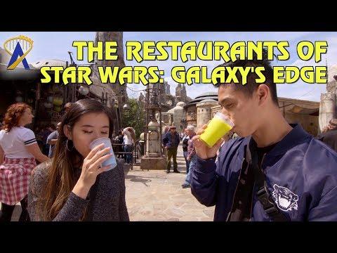 The Restaurants of Star Wars: Galaxy's Edge
