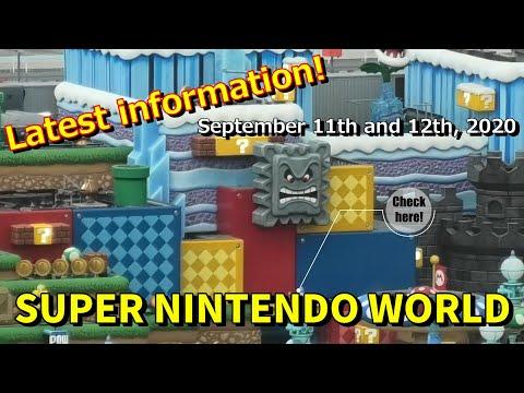 【スーパーニンテンドーワールド】2度目の緊急事態宣言により開業延期中 / Super Nintendo World, which is difficult to open