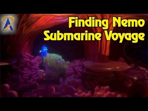 Finding Nemo Submarine Voyage Low Light POV at Disneyland