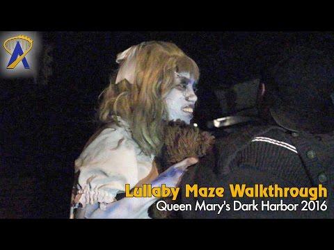 Lullaby - Full Maze at Queen Mary Dark Harbor 2016