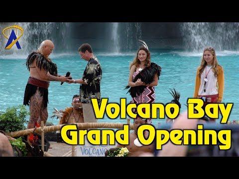 Volcano Bay Grand Opening Celebration at Universal Orlando
