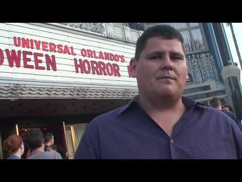 Halloween Horror Nights 19 2009 Interviews on Opening Night